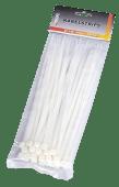Kabelstrips hvite 19cm x 50stk