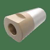 Propellmutter m/anode 35mm/M24x2