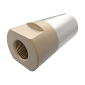 Propellmutter m/anode 40mm/M24x2