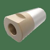 Propellmutter m/anode 45mm/M33x2