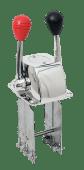 Kontrollboks 2-Spak Topp Forkrommet - Lang spak 25 cm