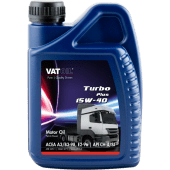 VATOIL Motorolje Turbo Plus 15W-40, VDS 2, 4 liter