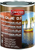 Owatrol Dekksolje D1 Silkematt 1 liter