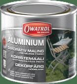Owatrol Aluminium rustbeskyttende maling 0,5liter
