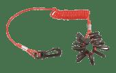 Dødmannsknapp Universal m/10 ass. nøkler