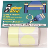 Fluoriserende tape gul 2pk 38mmx1m