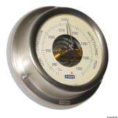 Barometer 125mm rustfritt stål