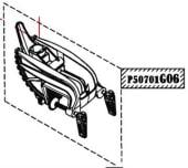 Haswing Ospian 55 Motor bracket