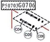Haswing Ospian 55 Motor screws