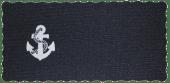 Duk Kvadratisk anker 27X55cm blå
