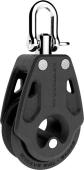 Lewmar Control blokk 40mm singel m/svivel