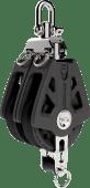 Lewmar Sync blokk 60mm dobbel m/svivel og hundsvott