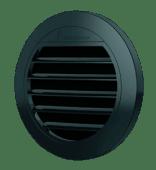 Eberspächer Vridbart lokk 50/60mm sort HL åpen 0 grader