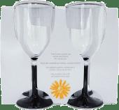 Glass akryl vin m/stett 0,3 ltr 4pk