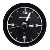Faria Quartsur 52mm 12V Sort