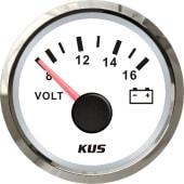 KUS voltmeter NMEA2000 Hvit