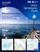 Båtsportkart 07-Utsira-Stjernarøyane-Sauda