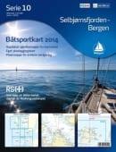 Båtsportkart 10-Selbjørnsfjorden-Bergen