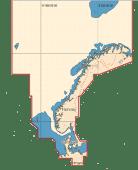 C-Map Max Wide Nordsjøen-Danmark Sd Brikke