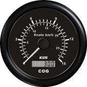 Kus GPS fartsmåler med digital COG