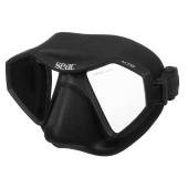 Dykkermaske M70 svart silikon