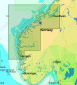 C-Map Max-N+ Lokal Bergen til Brandsfjorden