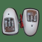 Lanternesett LED Hvit
