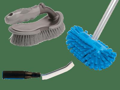 Vaskebørster og utstyr