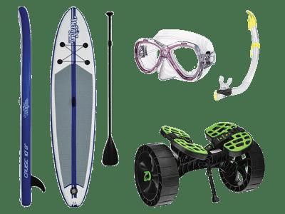 Vannsport og lek
