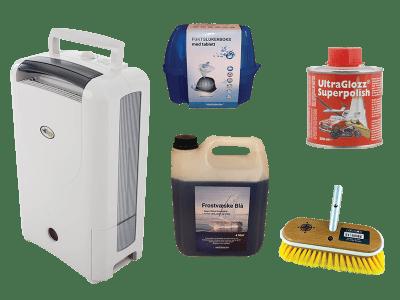 Pleiemidler og oppbevaring