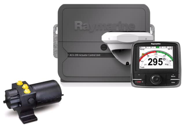 Raymarine Autopilot Evolution EV-200 pakke hydraulisk