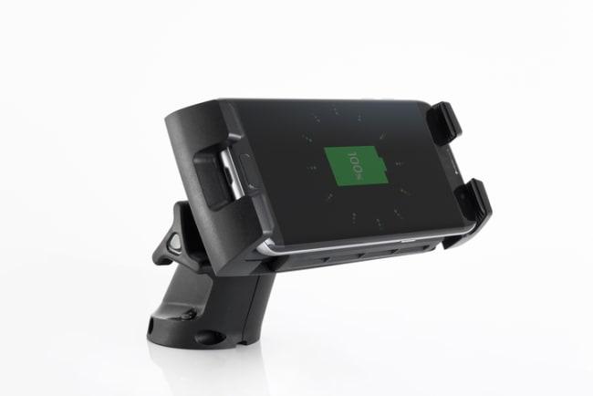 Rokk Charge Edge Mobilholder mFot og mTrådløs lader 1224V