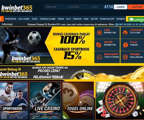 Bwinbet365 : Situs Judi Online, Bandar Bola Dan Judi Bola