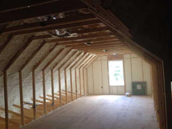 Room over garage.