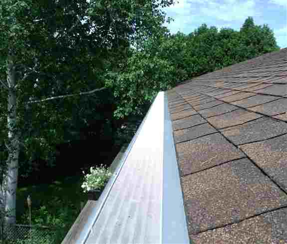 clogged gutters? all american gutter protection can help