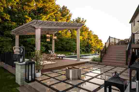 With a custom design plan from The Pros you can bring every component of your dream yard together into a seamless outdoor space.