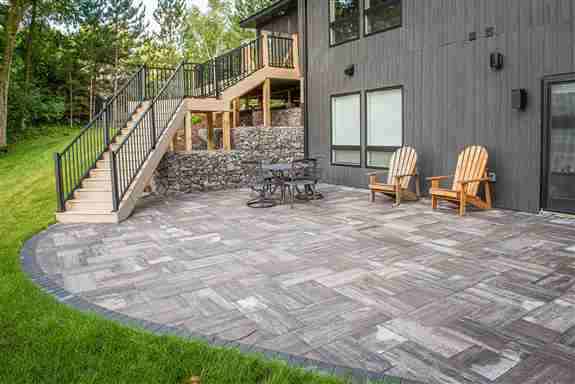paver patios, decks, and outdoor kitchens