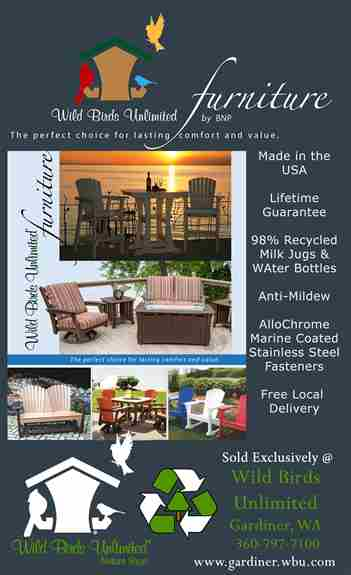 Our Recycled Plastic Outdoor Furniture is not only Lifetime Guaranteed and Made in America, it is the most comfortable Patio Furniture out there. Our Company has the ergonomics of comfort figured out. You can't go wrong with this choice for your backyard.