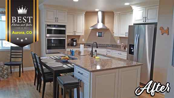 Full Kitchen Remodels from concept to design to fruition! See more at www.bestkab.com