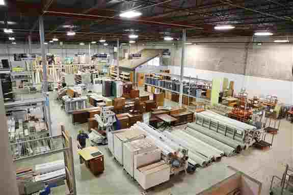 I view of the ReStore outlet in Minneapolis. Tons of building materials, furniture, lighting, and more!