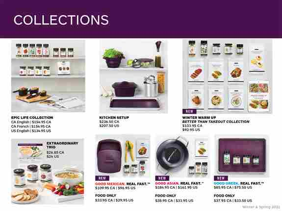 Just a few of the amazing collections we have available.  Products can be purchased individually also