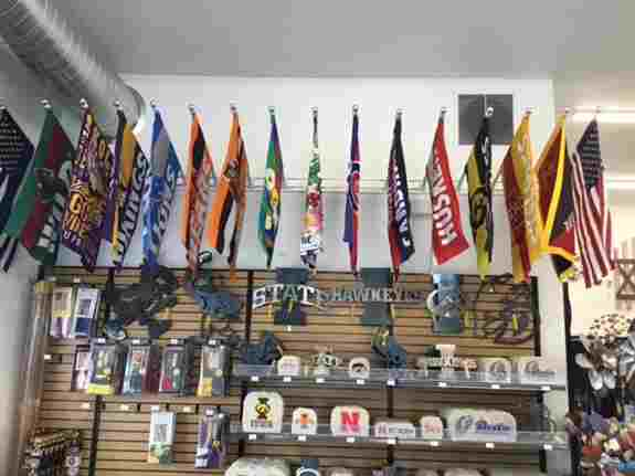 New Flags On Display