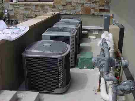 Multiple unit installation.