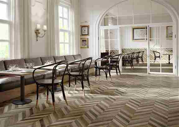 porcelain tile herringbone pattern<br />Commercial
