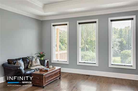 Infinity from Marvin windows and doors provide the look you want to update and upgrade your home, while also providing energy efficiency. Ultrex fiberglass provides an insulating barrier against extreme Ohio weather temperatures, keeping your home comfort