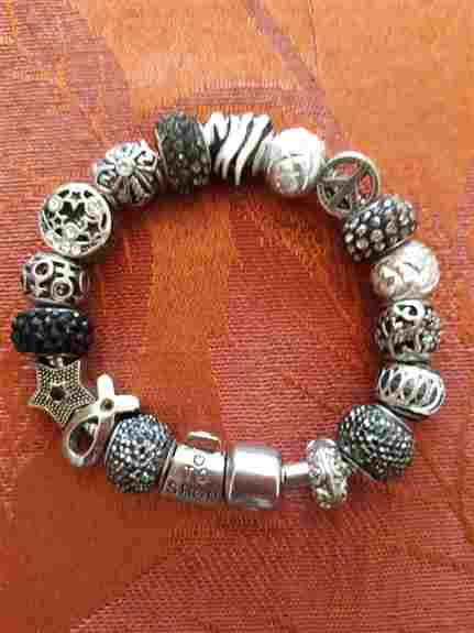 Build your own bracelet with hundreds of designs to choose from to make you feel special.