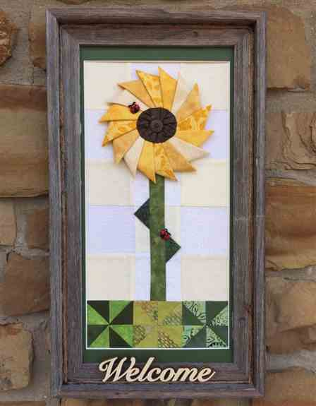 Framed Quilted pictures!  Very popular and welcoming<br />Many other items too!