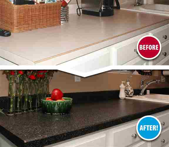 Take your countertops from bland to BOLD in 2 days with Miracle Method Surface Refinishing! Don't wait, Call today for your FREE estimate!