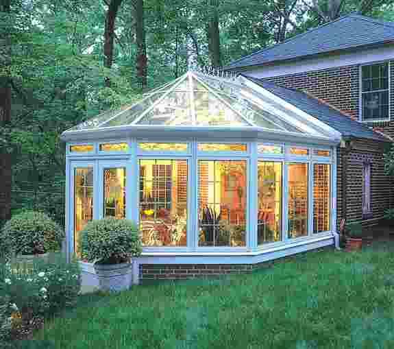 Victorian Conservatory, 4-Seasons Sunroom. The most elegant Sunroom design on the market.