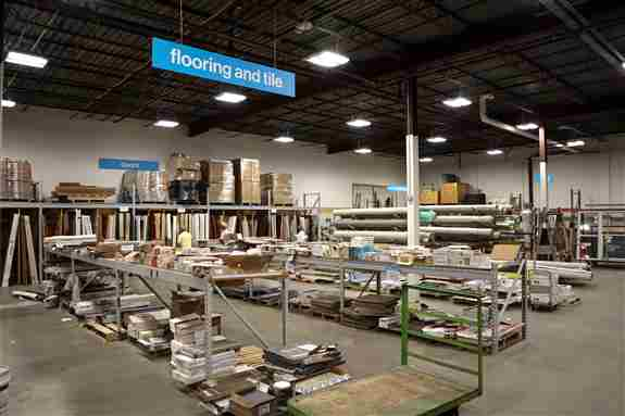 You can find flooring, tile, carpet, doors, windows, and more at ReStore!